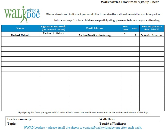 29+ Free Email Sign up Sheet Templates [Excel+Word]