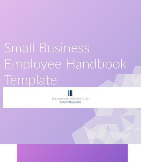 employee handbook template 22